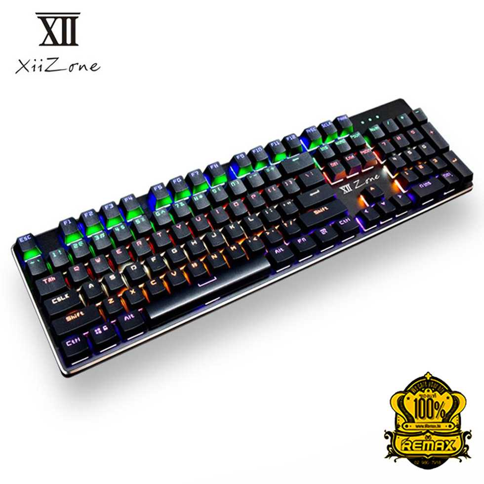 Remax XII-J588 Mechanical Blue Switch Gaming Keyboard