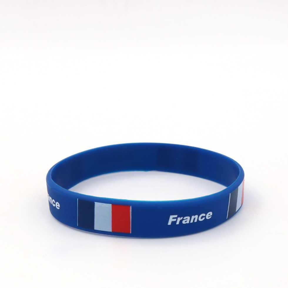 Wristband สายรัดข้อมือ บอลโลก 2018 - ฝรั่งเศส