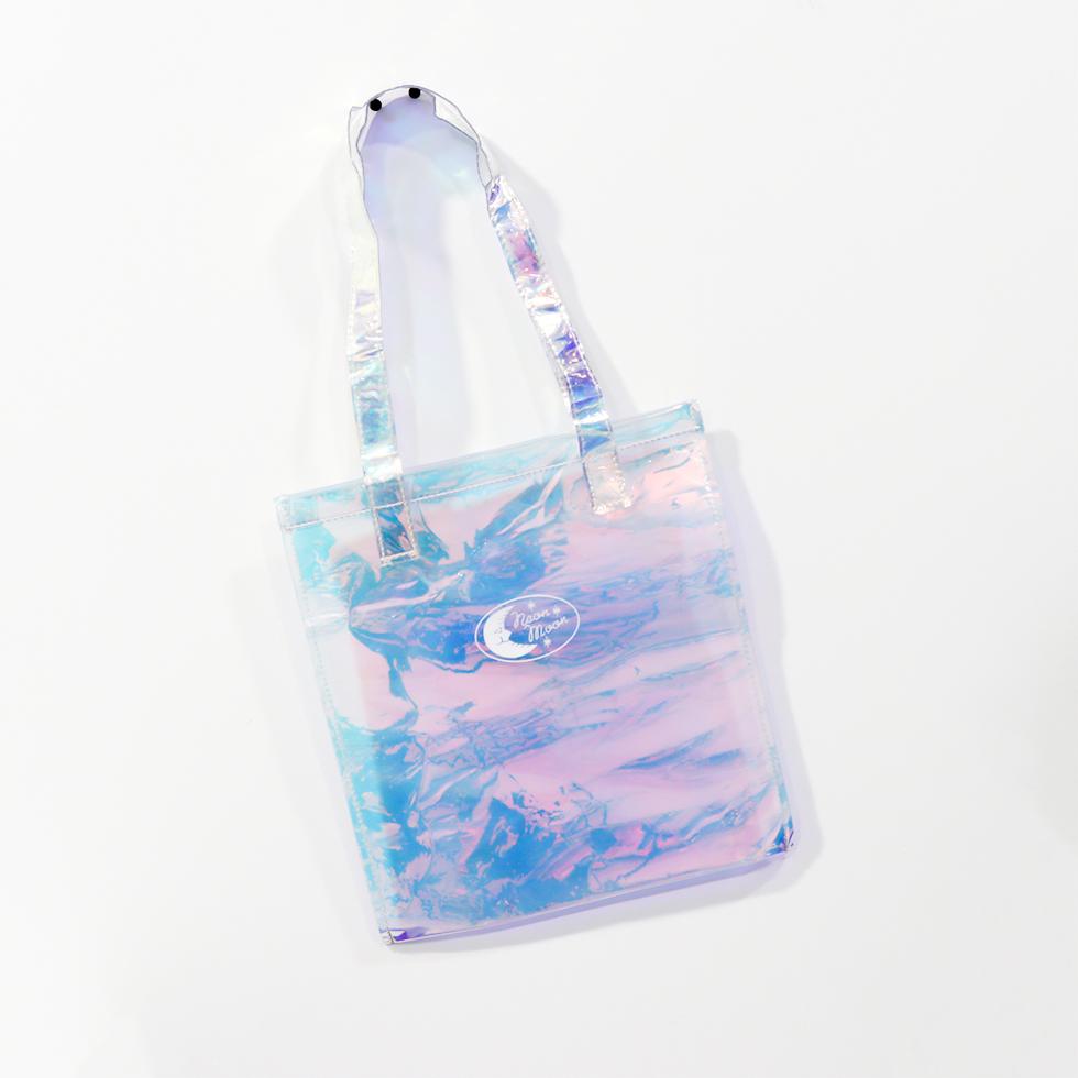 กระเป๋าสะพายบ่าโฮโลแกรม แบบโปร่งใส