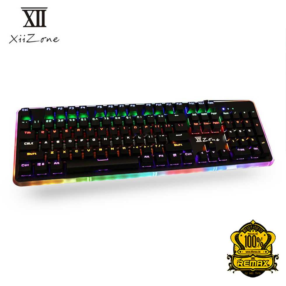 Remax XII-J566 Mechanical Blue Switch Gaming Keyboard