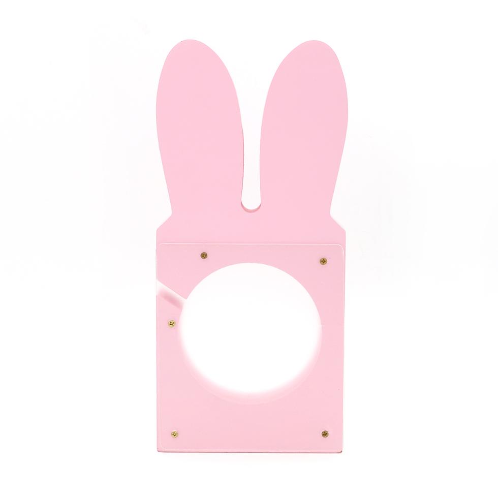 กระปุกออมสิน ลายกระต่าย สีชมพู