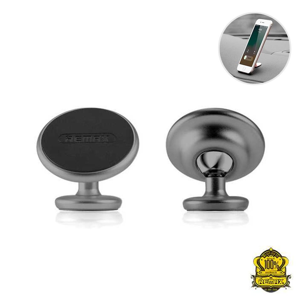 REMAX ที่ยึดโทรศัพท์ Metal solid Holder RM-C29 (Silver)