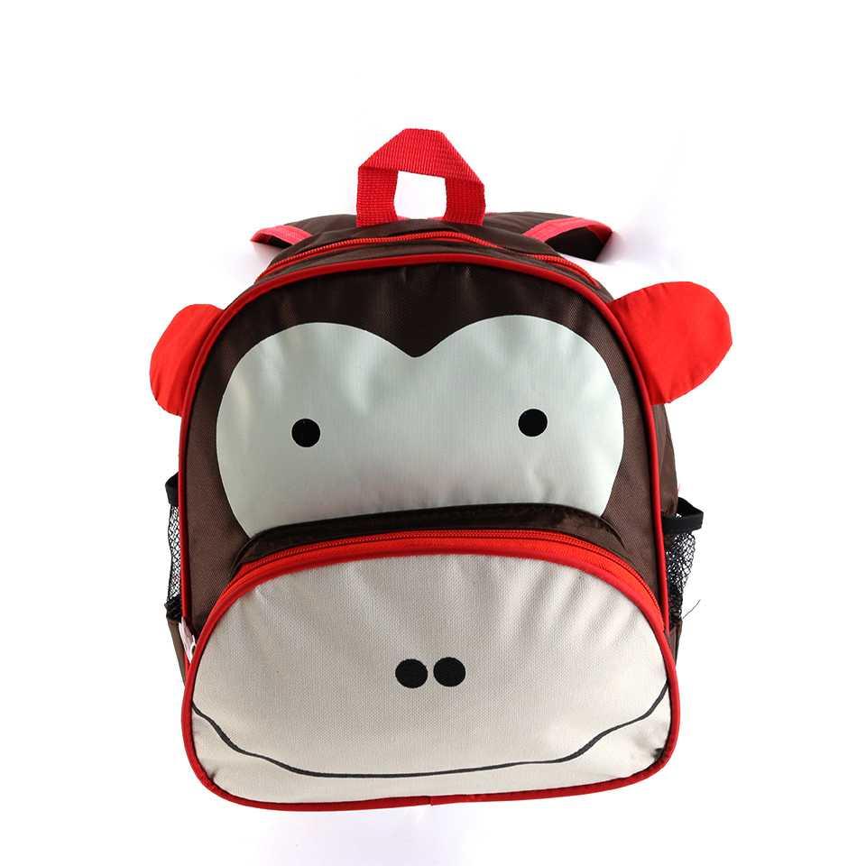 กระเป๋าเป้เด็ก สุดน่ารัก (ลายลิงน้อย)