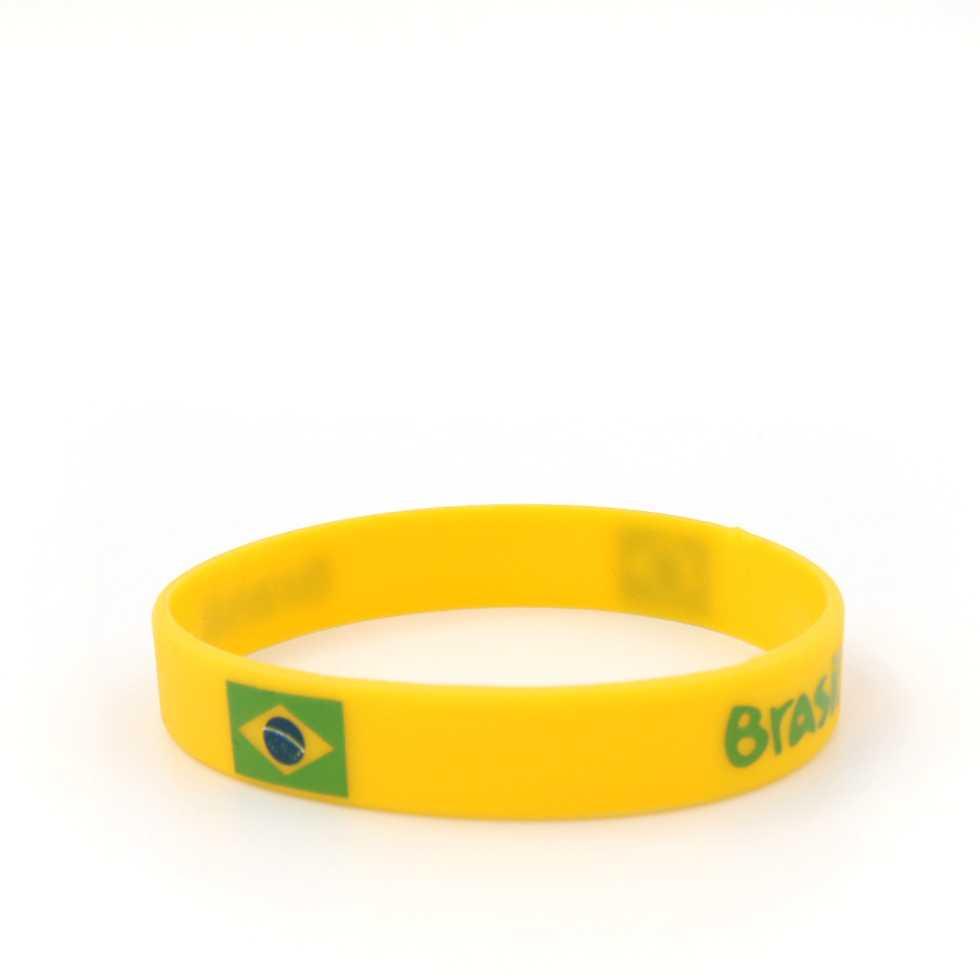 Wristband สายรัดข้อมือ บอลโลก 2018 - บราซิล