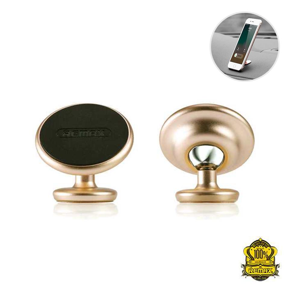 REMAX ที่ยึดโทรศัพท์ Metal solid Holder RM-C29 (Gold)