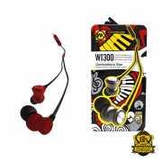 WK REMAX หูฟัง WK-WI300 120 cm. สีแดง